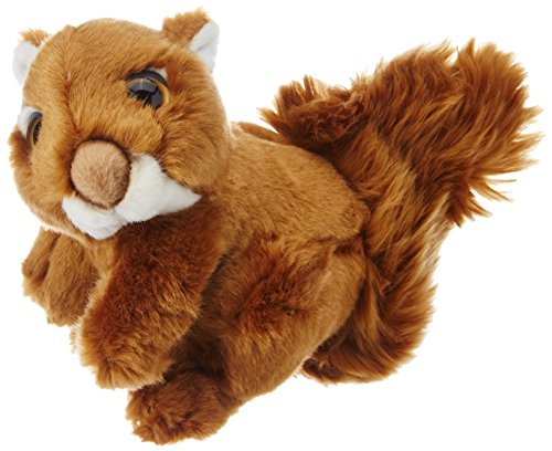 Wild Republic Squirrel Plush, Stuffed Animal, Plush Toy, Gifts For Kids, Wild Watchers 7 Inches