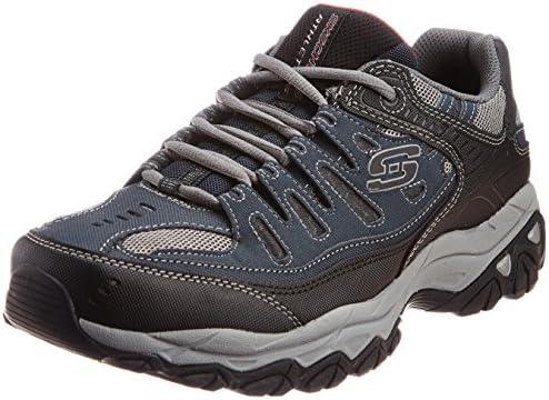 Skechers Afterburn Memory Foam Lace up Sneaker product image