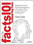 Studyguide for Human Resources Management in the Hospitality Industry by David K. Hayes, ISBN 9780470084809, Cram101 Textbook Reviews Staff, 1490286802
