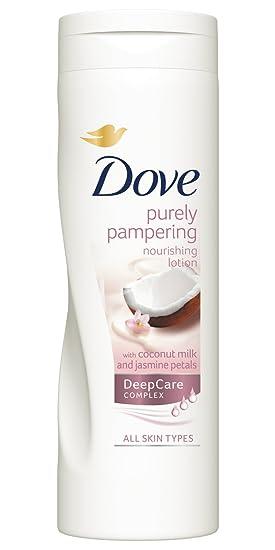 Dove Aceite de Coco y Leche de Almendras Loción 400 ml: Amazon.es: Belleza