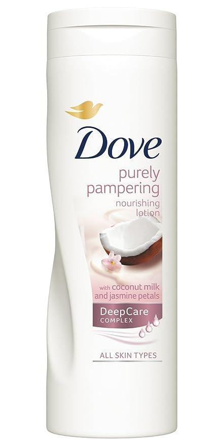 Dove Aceite de Coco y Leche de Almendras Loción 400 ml