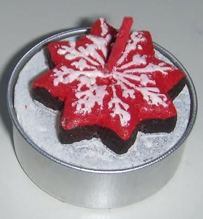 Torta A Forma Di Stella Di Natale.Broste Kopenhagen 2 Pezzi Porta Tea Light Miele Torta A Forma Di