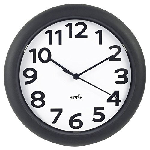 Review HIPPIH Silent Wall Clock