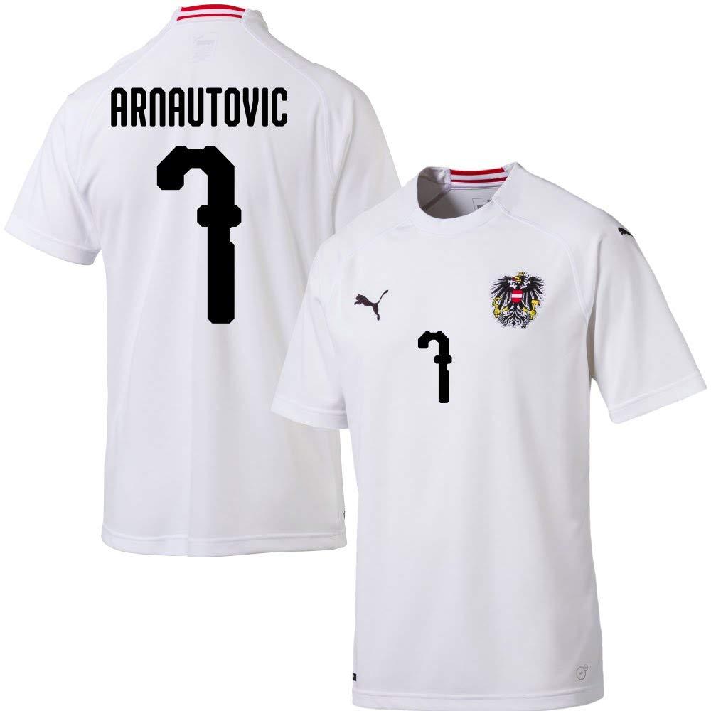 Österreich Away Trikot 2018 2019 + Arnautovic 7 (Fan Style)