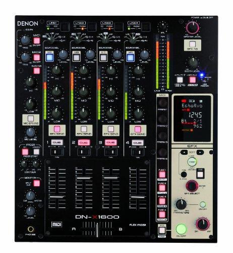 Denon DJ DN-X1600 Professional 4-Channel Matrix Mixer with USB Audio I/F (Virtual Dj Interface)