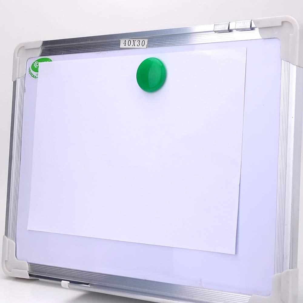 Lot de 50 aimants ronds recouverts de plastique pour tableau blanc pour bureau ou /école 30 mm