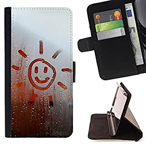 King Case - FOR LG G3 - you are my sunshine - Prima caja de la PU billetera de cuero con ranuras para tarjetas, efectivo Compartimiento desmontable y correa para la mu?eca