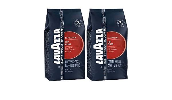 Lavazza Espresso Top Class, Café de grano tostado, 2x 1000g: Amazon.es: Alimentación y bebidas