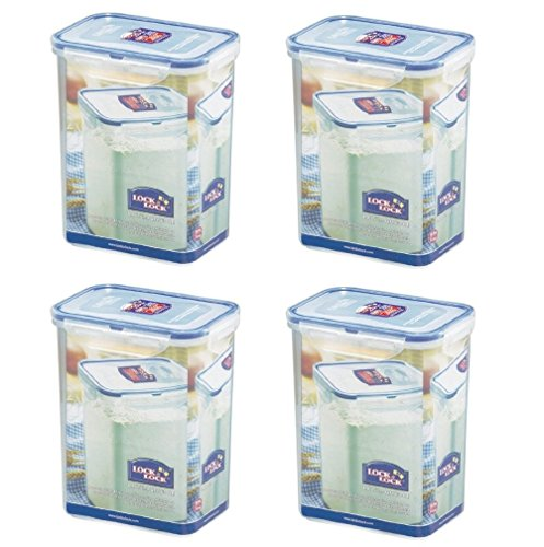LOCK & LOCK Airtight Rectangular Tall Food Storage Containe