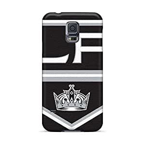 LeoSwiech Samsung Galaxy S5 Scratch Protection Phone Case Provide Private Custom Colorful Los Angeles Kings Image [PDQ29148JYjv]