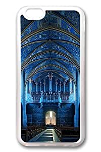 iPhone 6 Cases, Personalized Protective Case for New iPhone 6 Soft TPU Clear Edge Saint Cecil Cathedral Church