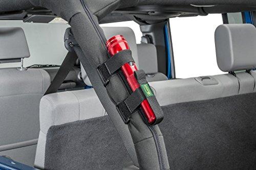 Quadratec® Flashlight Holder for Jeep Roll Bar Cage
