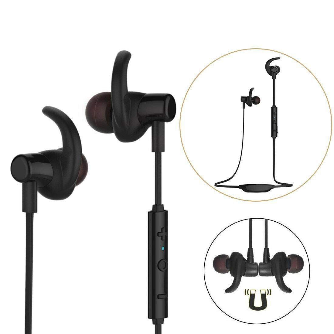 ワイヤレス Bluetooth 4.1 インイヤー イヤホン ヘッドホン ステレオ イヤホン ヘッドセット マイク付き   B07PRYN66K