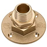 HOME-FLEX 3/4 In. Brass CSST X Mipt Termination Flange