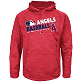 MLB Youth Authentic Collection Team Choice Streak Fleece Hoodie (Youth Small 8, Los Angeles Angels of Anaheim)