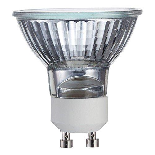 50MR16/GU10-50 Watt - Flood - GU10 (Twist & Lock) Base - 120V - MR16 Light Bulb 50W MR16