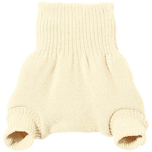 Disana 100% Organic Wool Diapers Cover/Soaker/Over Pants Made in Germany (62-68 (3-6 Months), Natural)