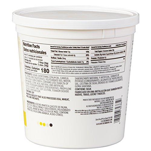 Wilton Creamy White Decorator Icing,Medium Consistency,4 lb. Tub, Cake Decorating Supplies by Wilton (Image #1)