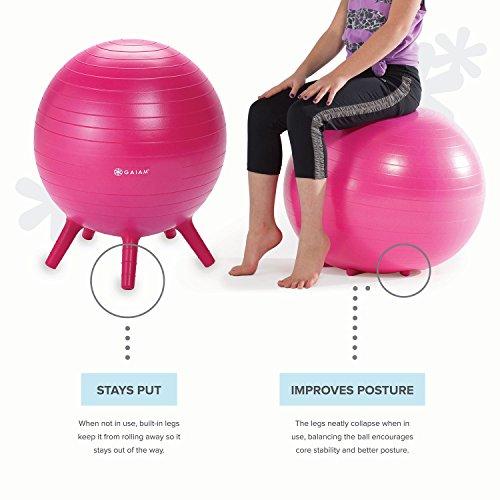 Gaiam Kids Stay N Play Children S Balance Ball Flexible