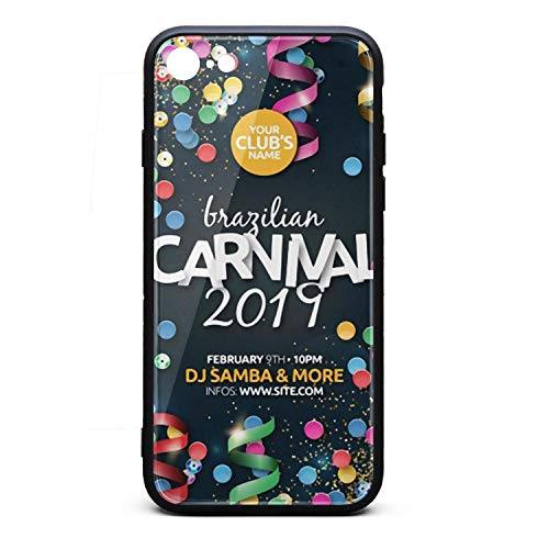 (Realistic Brazilian Carnival Party Flyer Poster i-Phone 6Plus/6SPlus Case Ultra Slim Case Anti-Finger Fashion for i-Phone 6Plus/6SPlus)