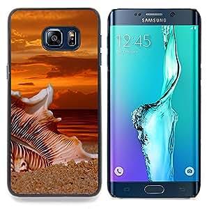 SKCASE Center / Funda Carcasa protectora - Beach Sunset Sand;;;;;;;; - Samsung Galaxy S6 Edge Plus / S6 Edge+ G928