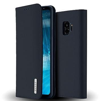 Radoo Galaxy S9 Hülle Luxus Premium Echtes Leder Elektronik