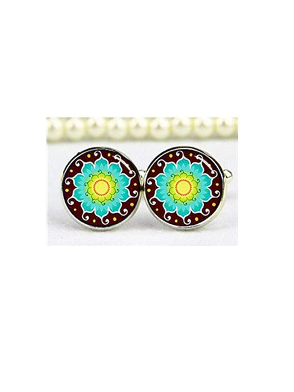 Gemelos de flor de loto, Yoga Gemelos, Gemelos de símbolo del OM ...