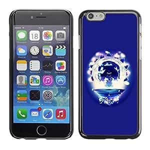 PC/Aluminum Funda Carcasa protectora para Apple Iphone 6 Party Skull / JUSTGO PHONE PROTECTOR