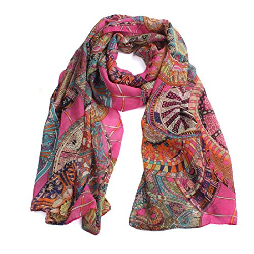 Abstract Summer Print Scarf