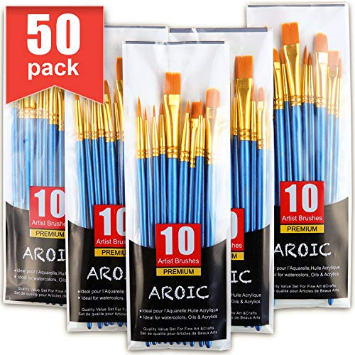 Bestselling Oval Wash Paintbrushes