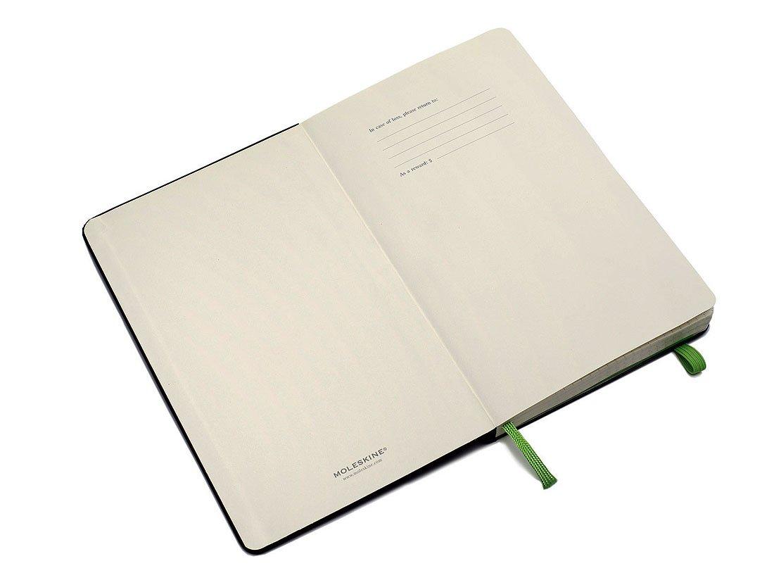 Moleskine Evernote Smart Notebook, Large, Squared, Black, Hard Cover (5 x 8.25)