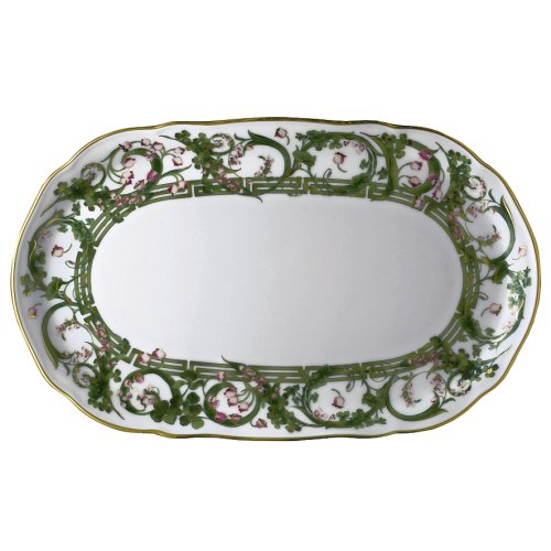 Versace by Rosenthal Flower Fantasy 10-Inch Sugar and Creamer Tray (China Creamer Versace)