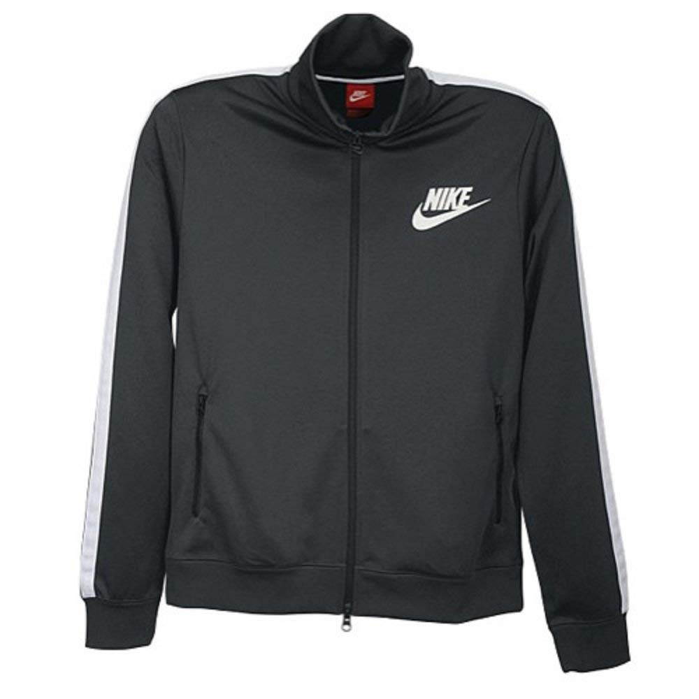 Nike Boys Futura Athletic Track//Warmup Jacket Anthracite//White//Black 5