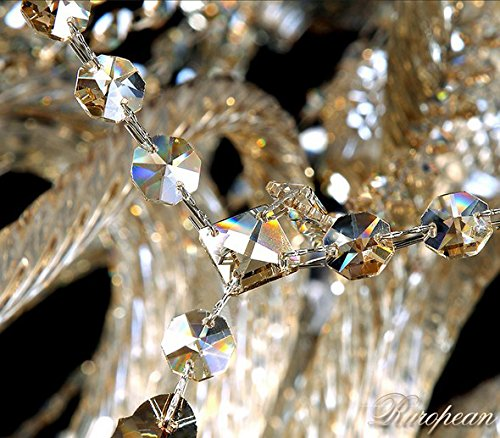 Generic Island Lights Crystals Chandelier 15 Lights Ceiling Fixtures Color Cognac by Unknown (Image #6)