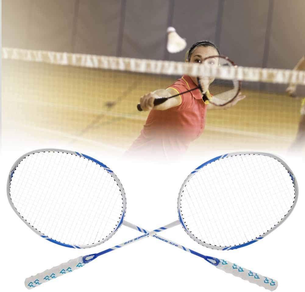 V GEBY Raquette de Badminton Set 2pcs Enfants Raquettes de Raquette de Badminton avec Sac