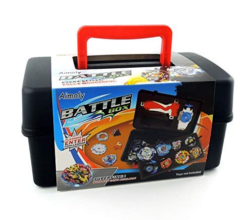 (Aimoly Battle Tops Case, Storage Carrying Box for Beyblade Burst Battling Games)