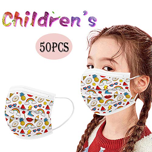 Paper disposable masks for kids
