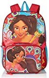 Disney Girls' Elena Backpack with Lunch Kt, Hot Pink/Blue