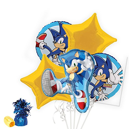 (Costume SuperCenter Sonic the Hedgehog Balloon Bouquet)