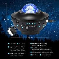 Delicacy Sky proyector de estrellas láser con proyector de luz de ...