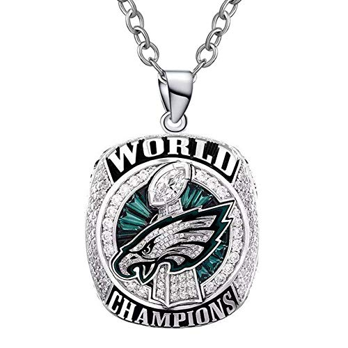 - KittyMacy Custom 2017-2018 Philadelphia Eagles Super Bowl World Championship Necklaces Pendants for Fans