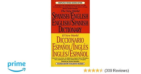 Amazon.com: The New World Spanish/English, English/Spanish ...