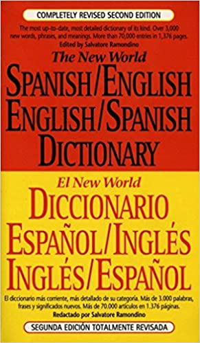 Amazon.com: The New World Spanish/English, English/Spanish ...