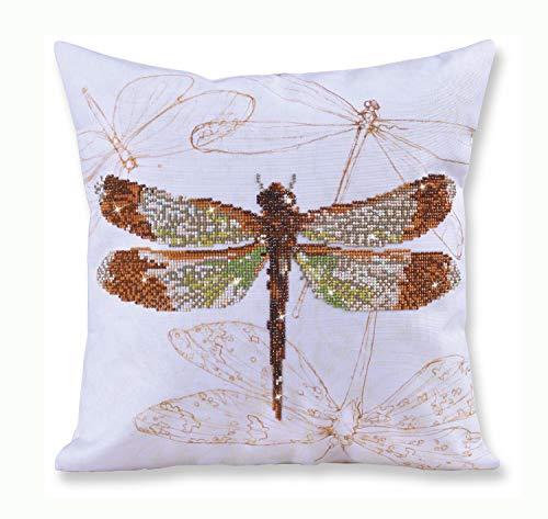 - Diamond Dotz Dragonfly Earth Pillow 5D Diamond Painting Facet Art Kit