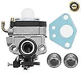 #10: 753-05676A Carburetor For Troy-Bilt TB4BP TBP6160 TB4BPEC Blower Trimmer Carb w/Primer Bulb Gasket