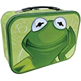 "WL SS-WL-11786 The Muppets ""Kermit The Frog"" Design Collectible Tin Tote, 10"""