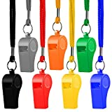 Hipat Whistle, 12 Packs Sports Whistles with