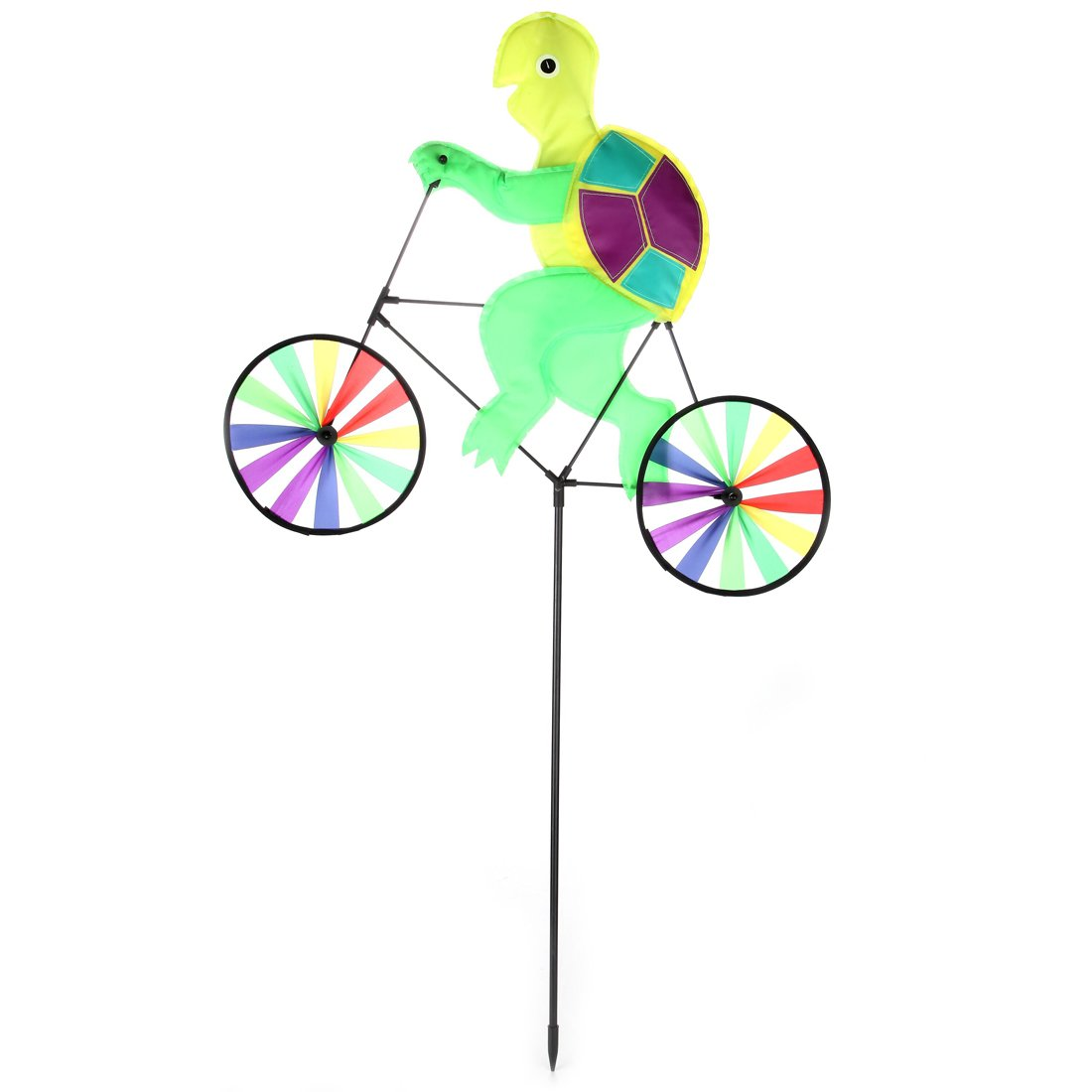 Home-X Garden Wind Spinners - Bicycle Frog and Turtle (Turtle)