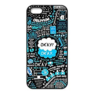 SUUER Rubber Silicone Custom Fault in Our Stars Design Rubber Tpu CASE for iPhone 5 5s Durable Case Cover