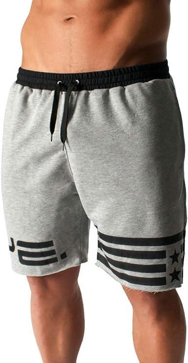 Subfamily Pantalones Cortos Deportivos de algodón para Hombres ...